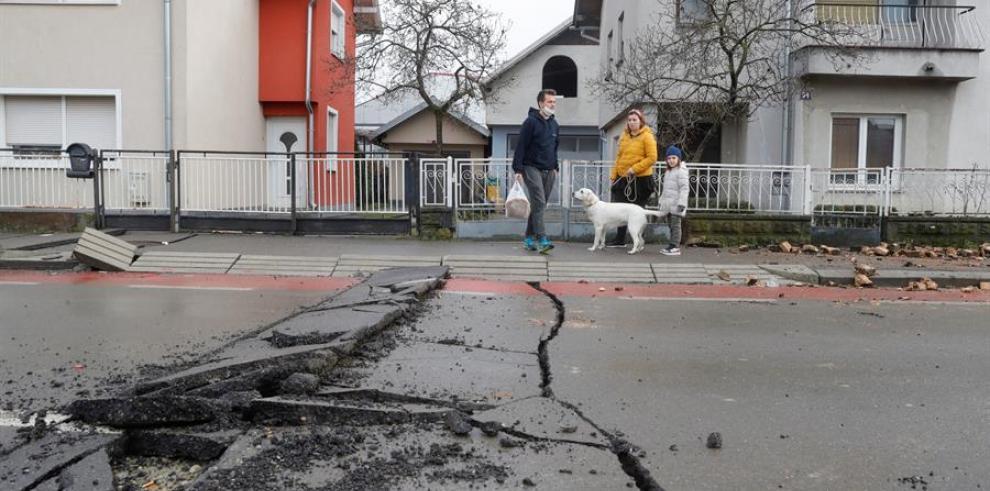 Alarma en Croacia por nuevos temblores tras el seísmo que causó 7 muertos