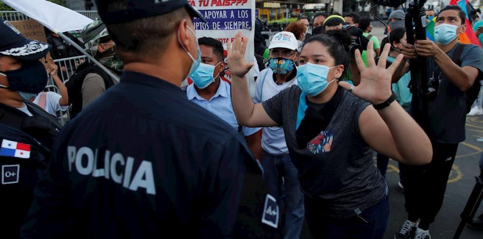 Protestas juveniles en Panamá