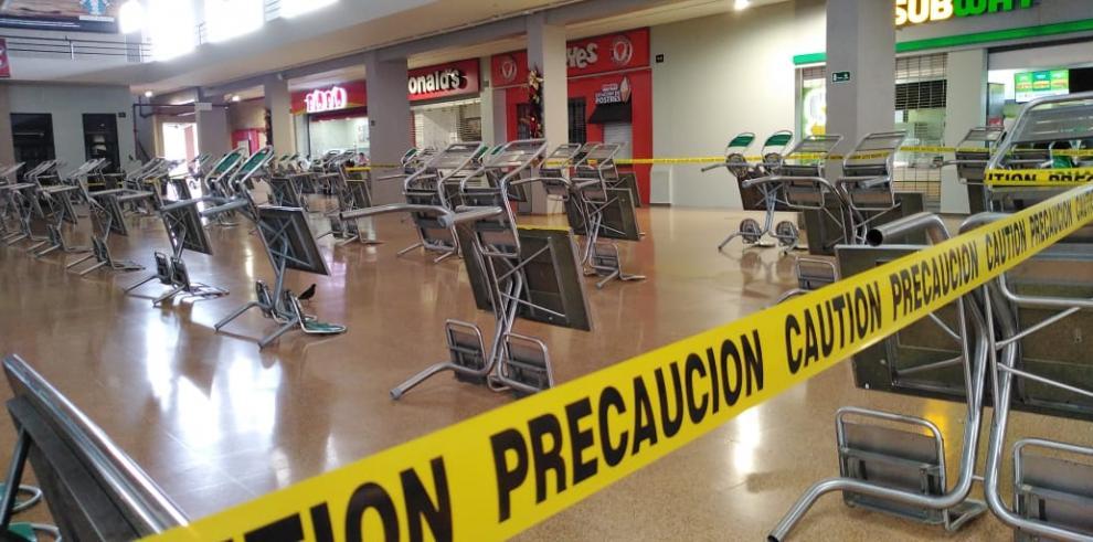Restaurantes cerrados por pandemia