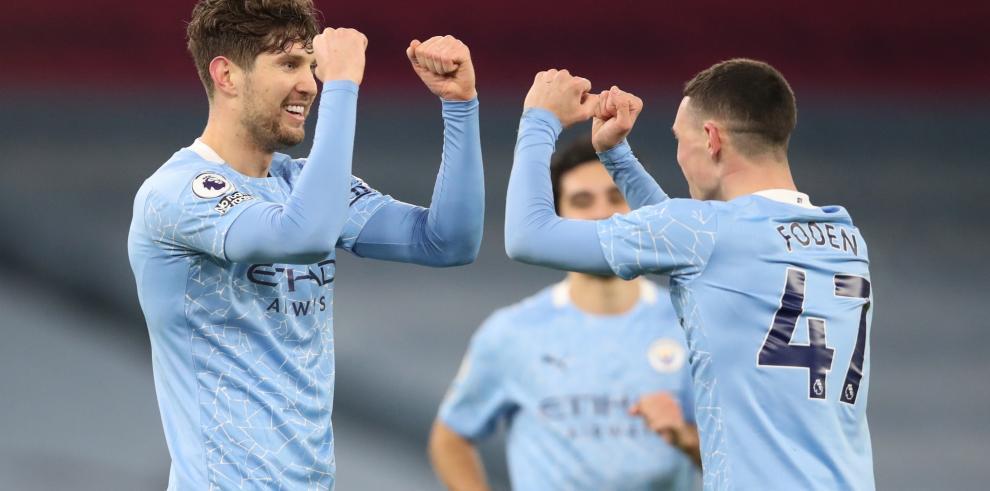 El triunfo deja al Manchester City segundo en la tabla, igualado con el Leicester