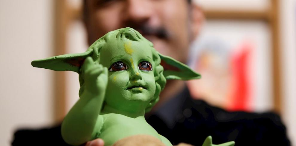 El creador mexicano del Niño Dios Baby Yoda: