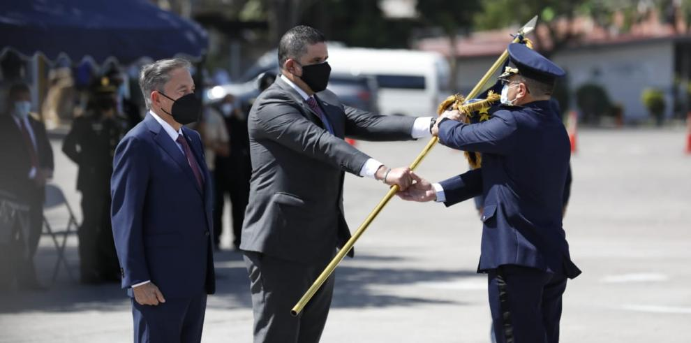 ceremonia de cambio de mando de la Policía Nacional