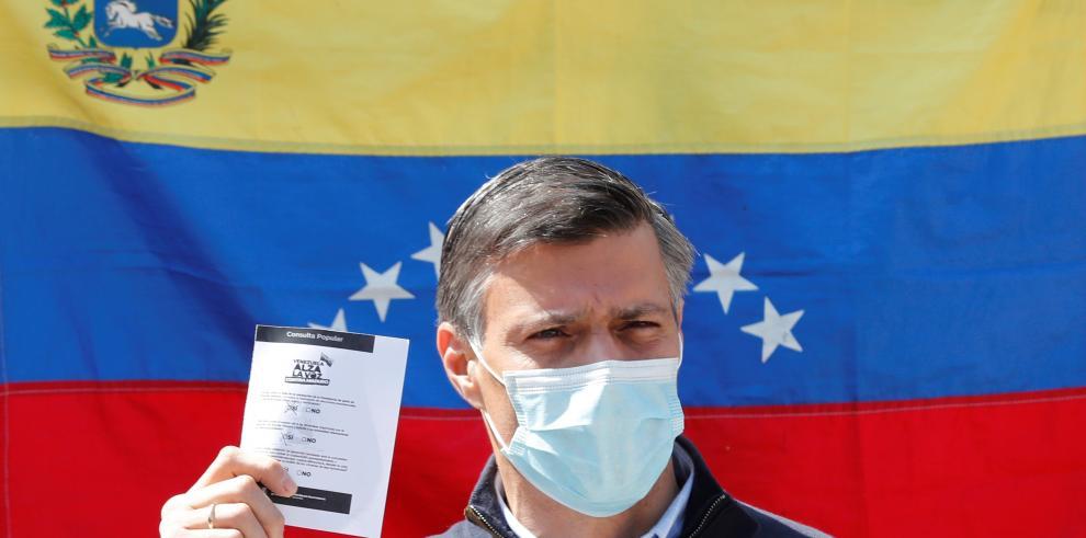 El líder opositor venezolano Leopoldo López