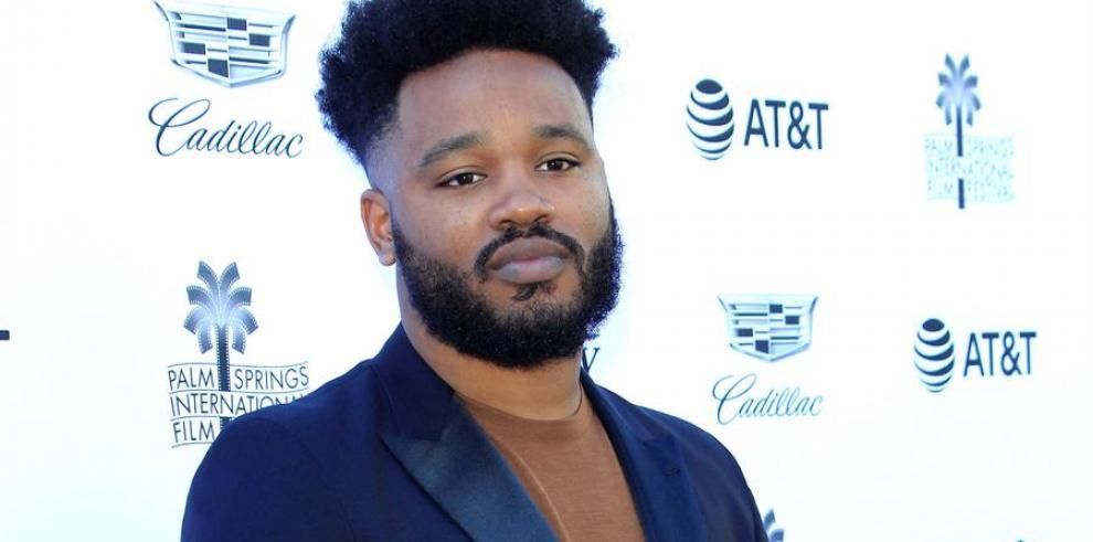 En la imagen, Ryan Coogler, quien coescribió y dirigió 'Black Panther