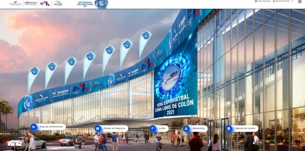 Primera Expo Virtual de la Zona Libre de Colón