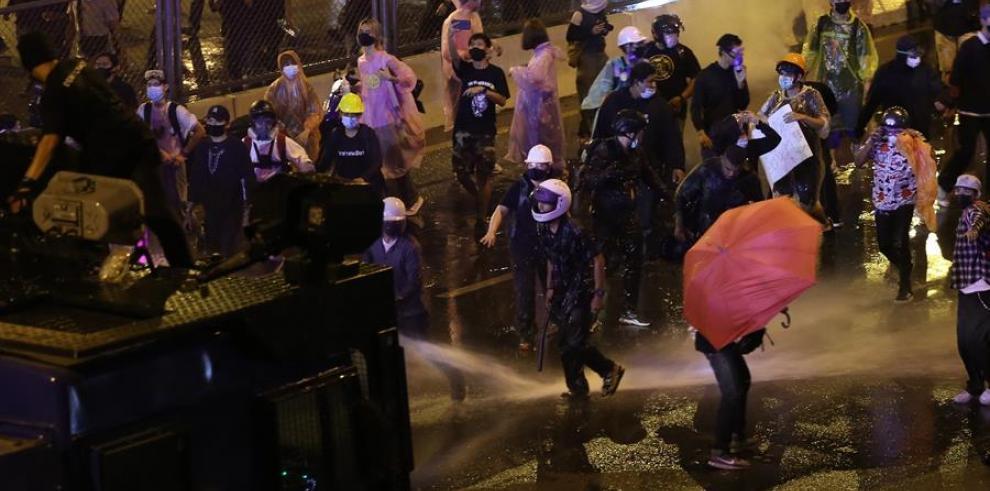 Protesta en Tailandia