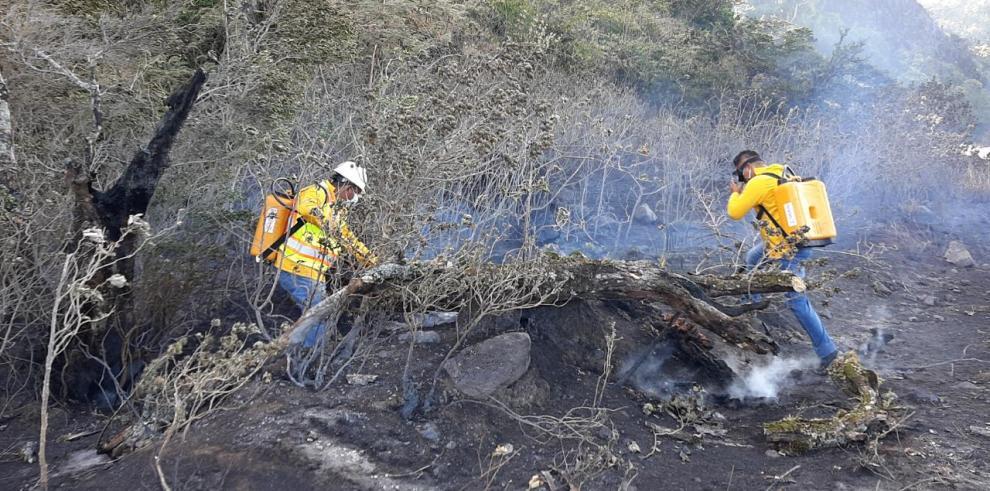 Incendio en Tierras Altas