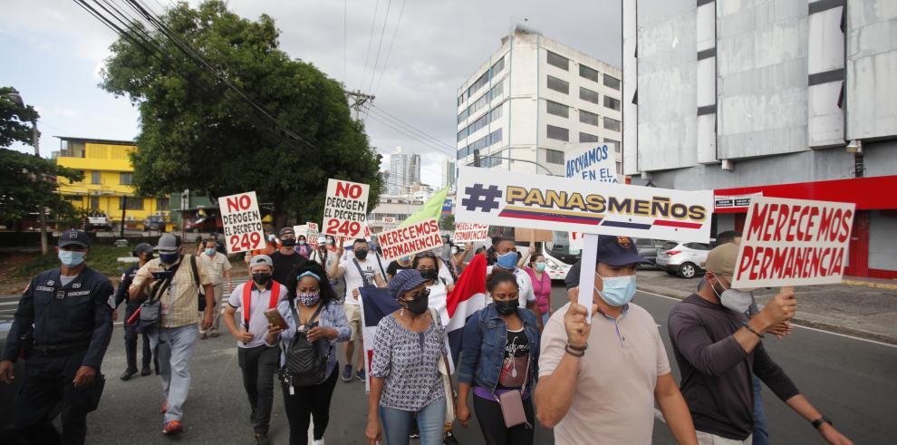 Protestas por el Decreto 249