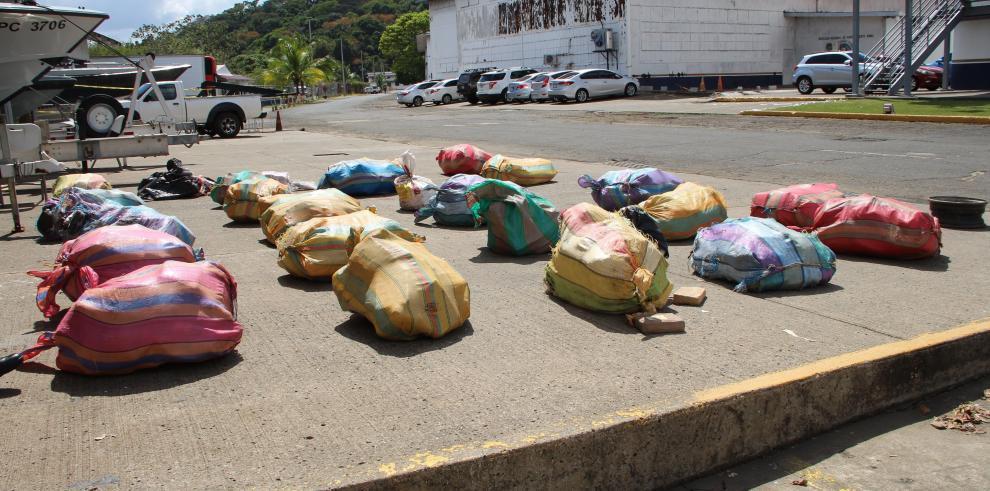Decomiso de droga en Panamá