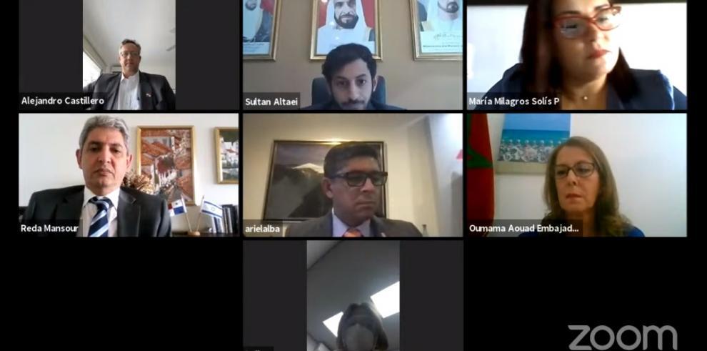 Conversatorio de Israel, EAU y Marruecos