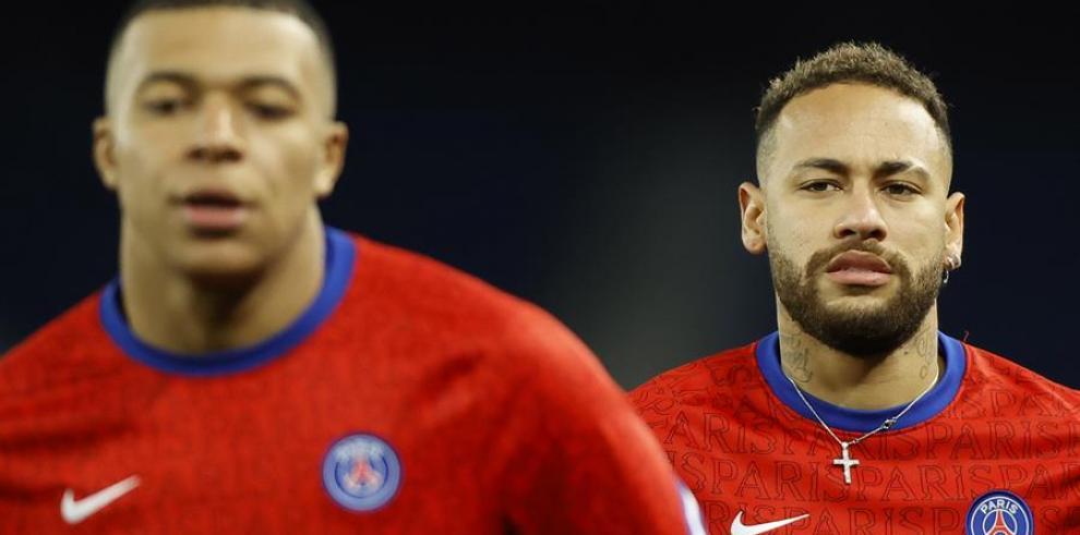 Kylian Mbappe  y Neymar Jr