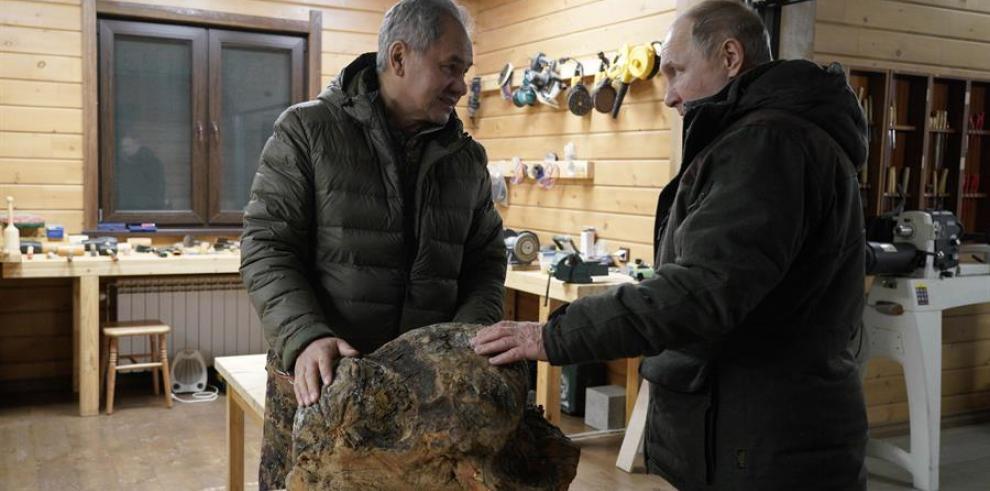 El jefe del Kremlin es un conocido amante de la naturaleza que aprovecha cualquier ocasión para hacer escapadas a lejanos lugares de la geografía rusa.