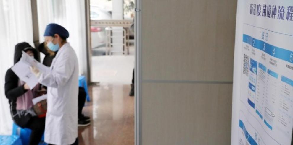 Shanghai vacunación contra covid