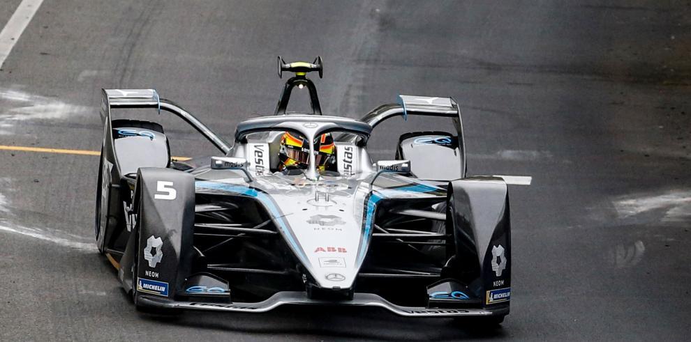 El belga Stoffel Vandoorne, de Mercedes, ganó este domingo el segundo de los dos Roma ePrix