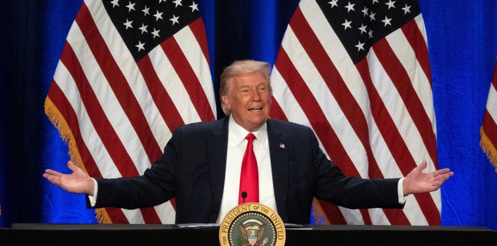 El expresidente de Estados Unidos Donald Trump