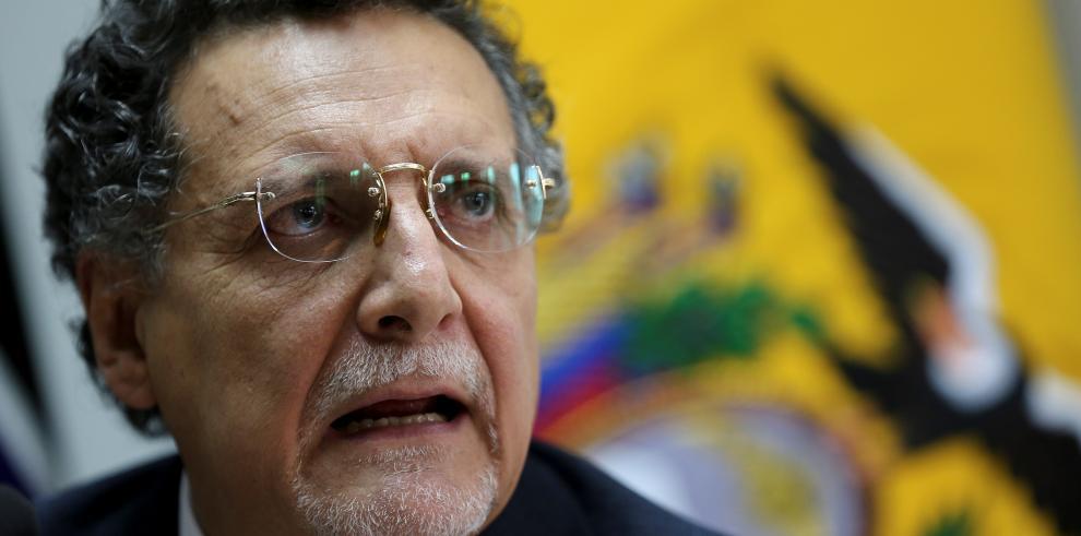 El contralor general del Estado, Pablo Celi