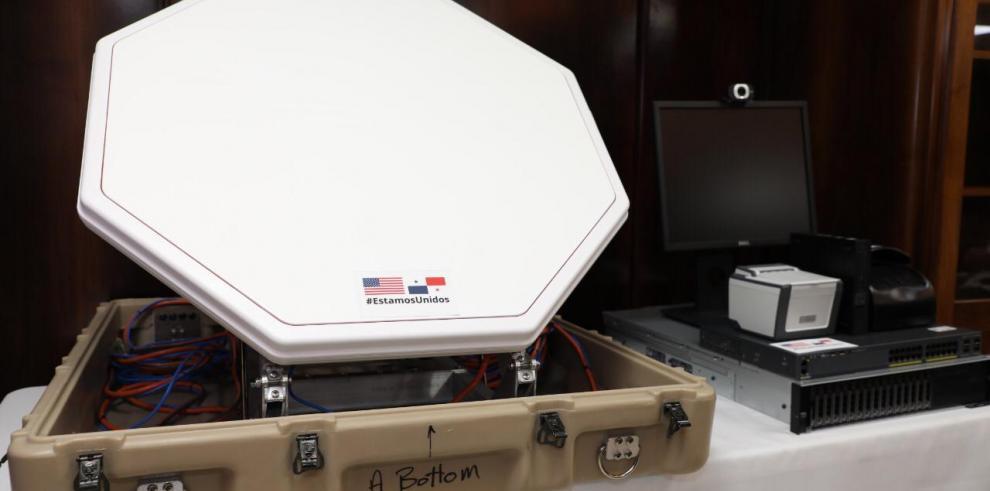 Oficina Antiterrorismo de EEUU dona equipos a Panamá para actualiza sistema de control de frontera