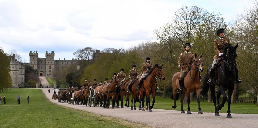 El funeral del duque de Edimburgo, un acto diseñado por él mismo
