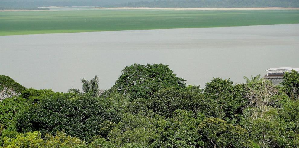 Fotografía de archivo de una vista panorámica de la ciudad de Manaos en la amazonía brasileña.