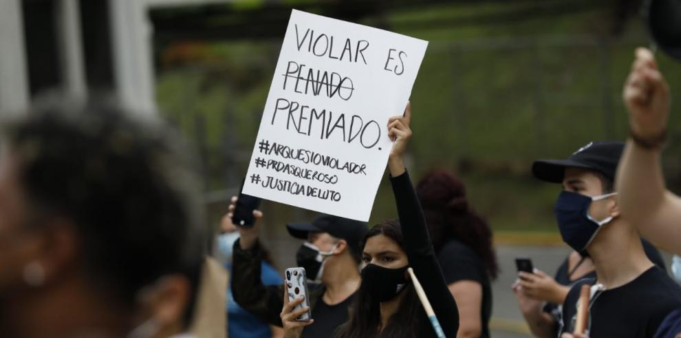 Protesta en la CSJ