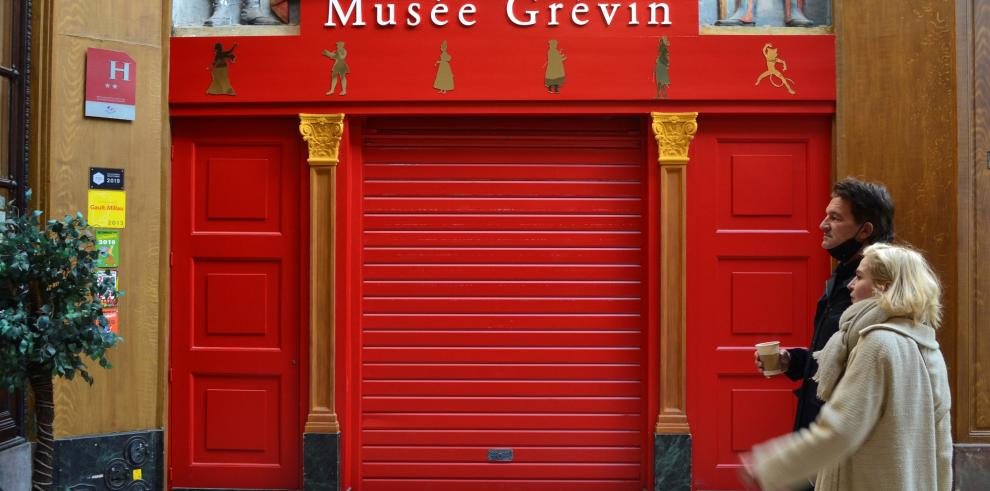 El Museo Grévin de París mantiene sus puertas cerradas