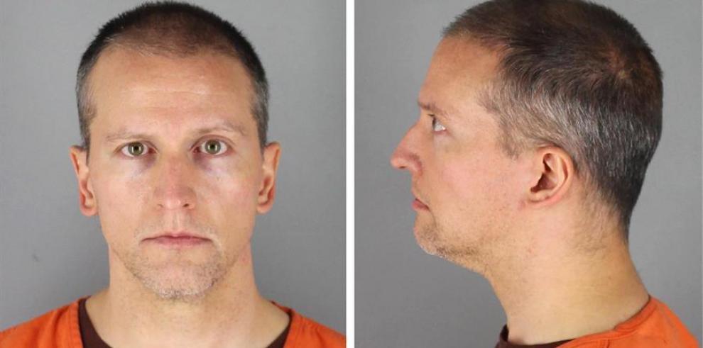 Derek Chauvin, el ex agente de policía condenado por matar al afroamericano George Floyd.