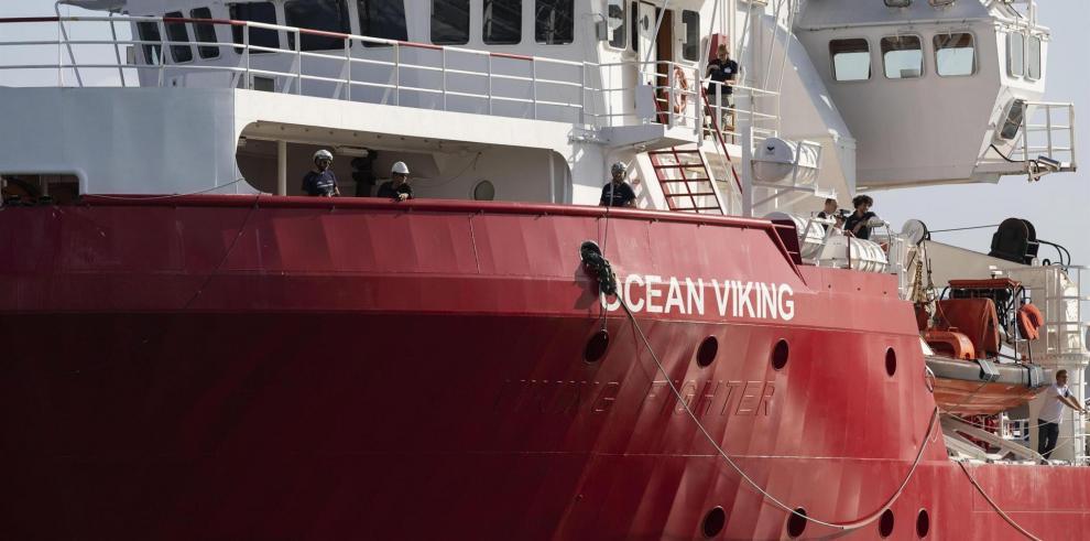 El barco Ocean Viking avista una decena de cadáveres en el Mediterráneo