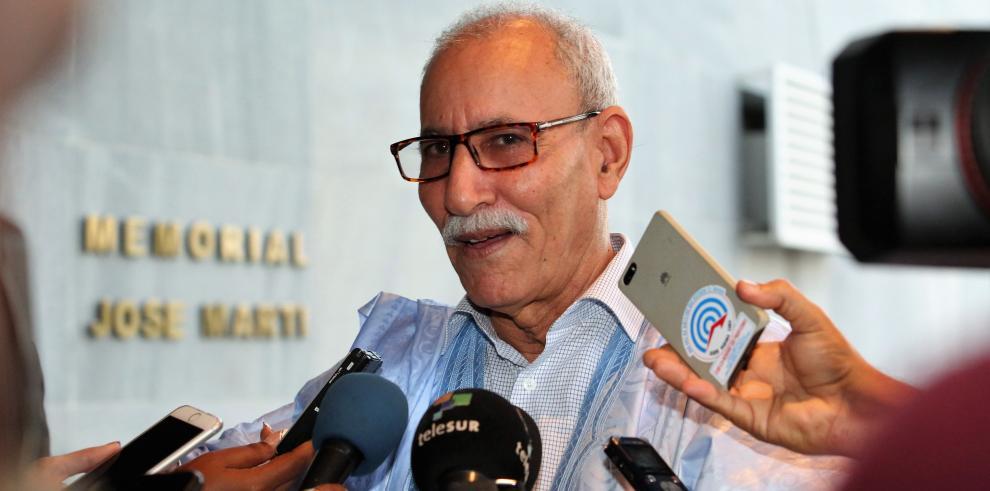 Sr. Brahim Ghali, presidente de la República Árabe Saharaui Democrática (RASD)
