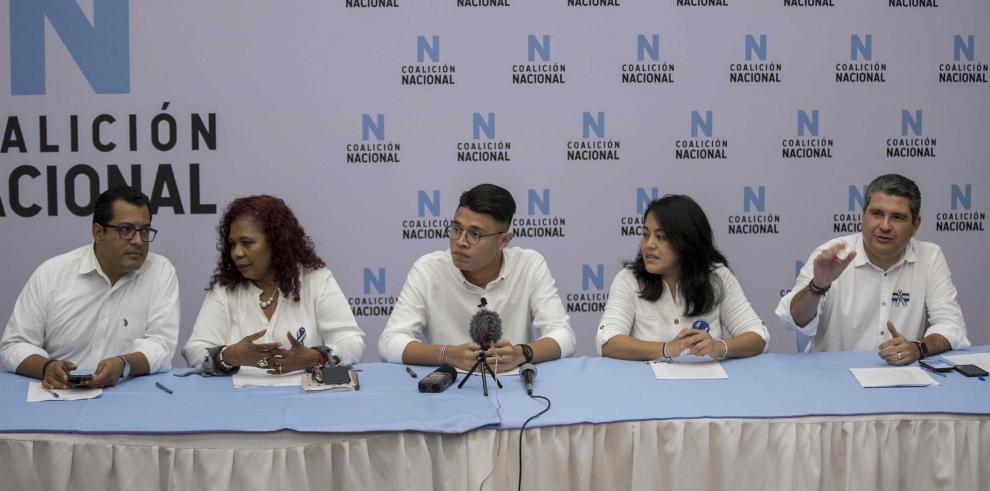 La Coalición Nacional, una de las dos principales facciones opositoras de Nicaragua, la integran el PRD, el indígena Yatama