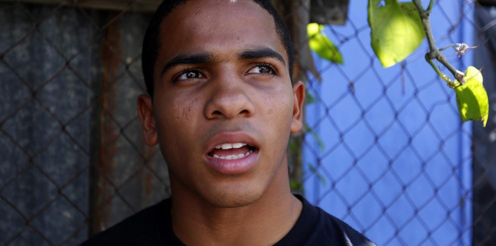 Boxeador puertorriqueño Félix Verdejo.