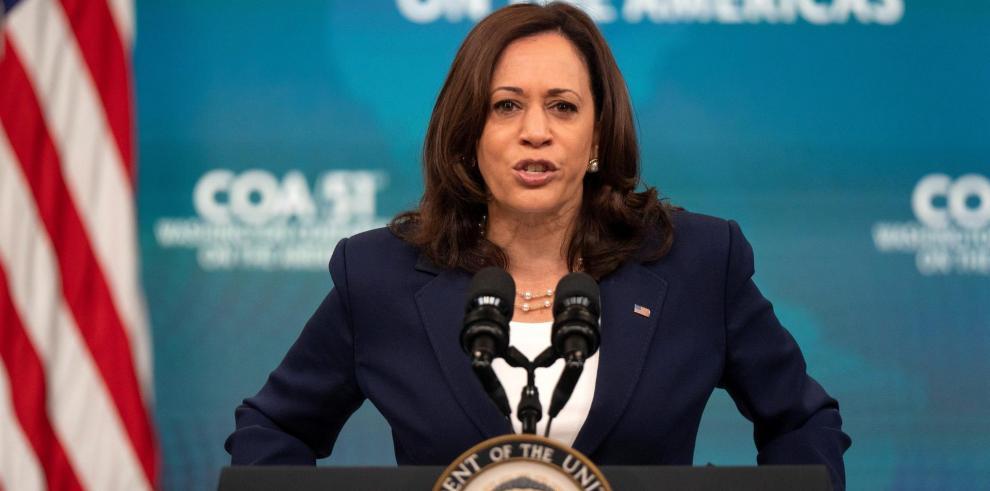 La vicepresidenta de EE.UU., Kamala Harris.