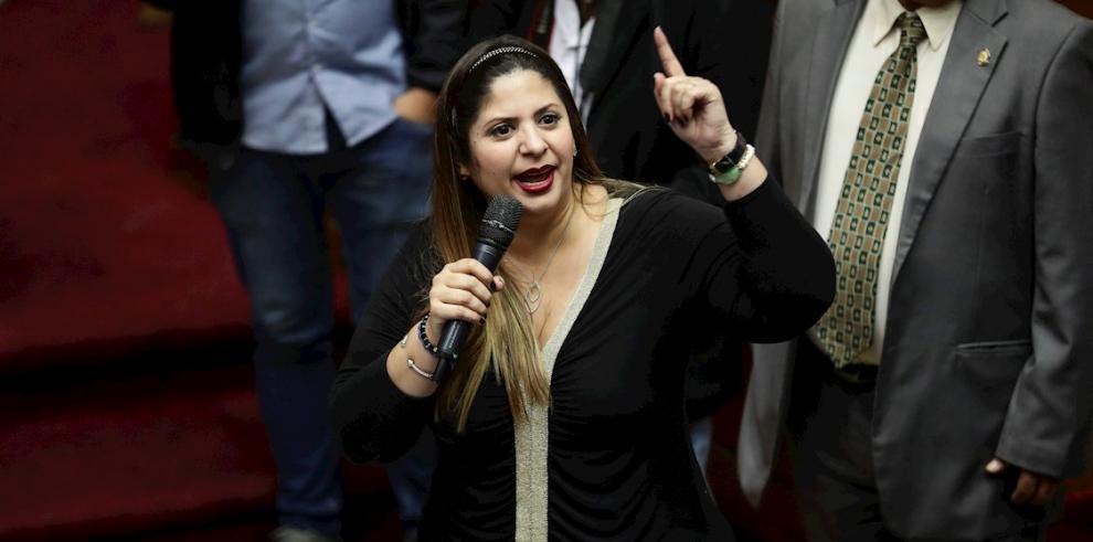 Nora Bracho, líder opositora