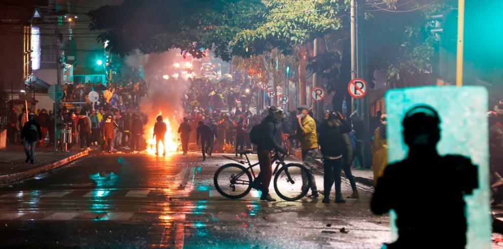 Represiones en Colombia