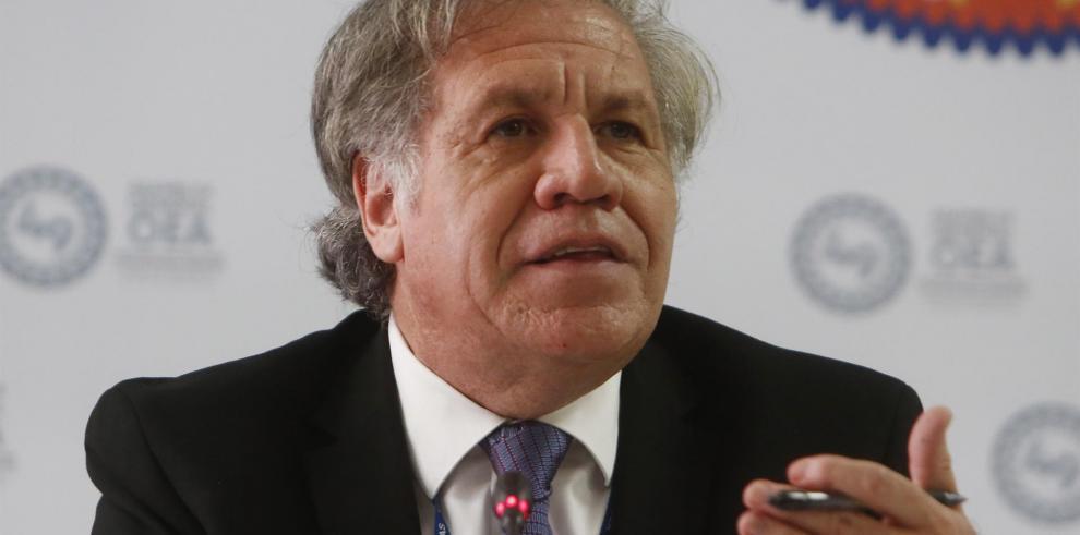 En la imagen, el secretario general de la OEA, Luis Almagro.