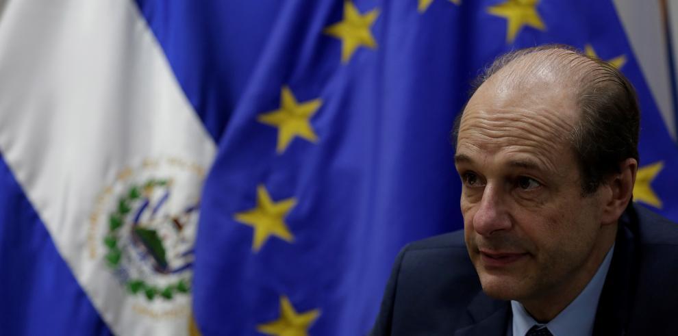 Embajador de la Unión Europea (UE) en El Salvador, Andreu Bassols.