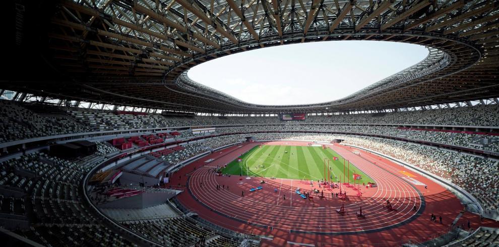 Tokio acoge un evento de atletismo de prueba para los JJOO y sin público