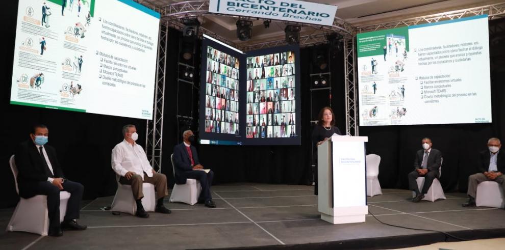 Pacto del Bicentenario instala las 44 comisiones temáticas