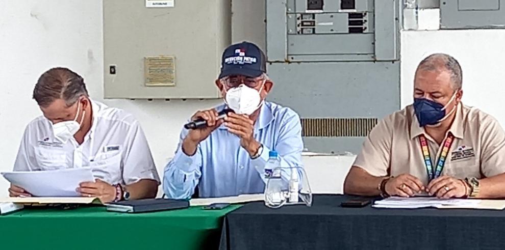 Ministro del Mida Augusto Valderrama