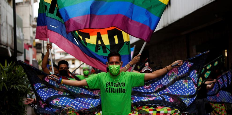 Miembros de la comunidad LGBTI de Panamá