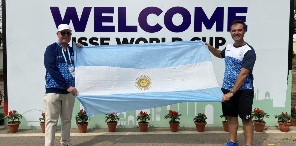 Federico Gil es un tirador deportivo argentina