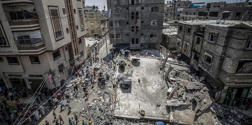Gobierno israelí acepta un alto el fuego con Hamás para Gaza