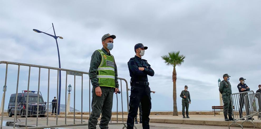 Con calma en la frontera, la tensión hispanomarroquí es ahora diplomática.