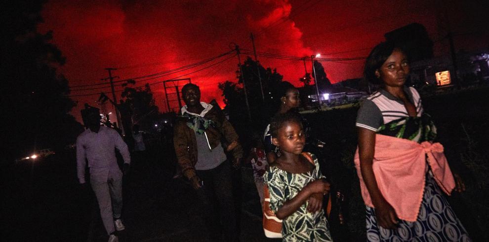 El pasado 11 de mayo, el Observatorio ya advirtió en un informe sobre la situación de los volcanes de la cordillera de Virunga -Nyamulagira y Nyiragongo