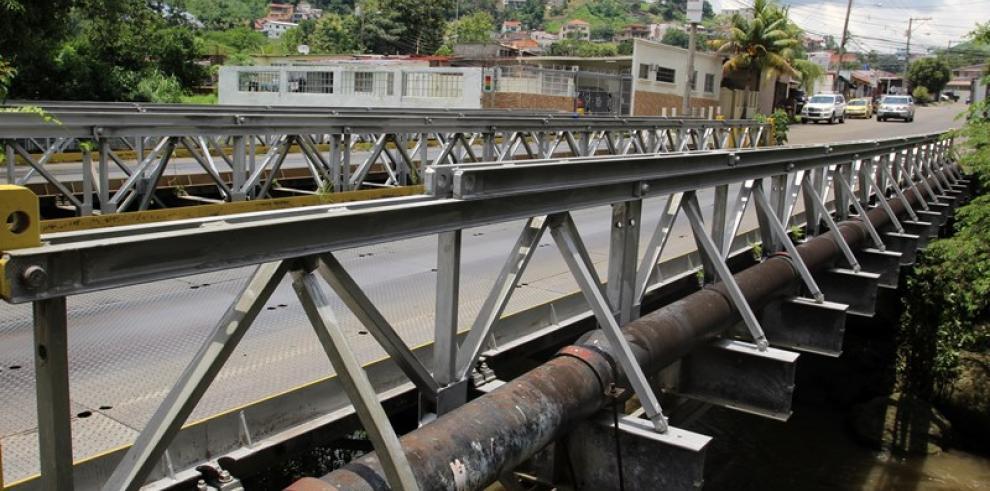 MOP evaluará 13 puentes vehiculares tipos modulares en Panamá y San Miguelito