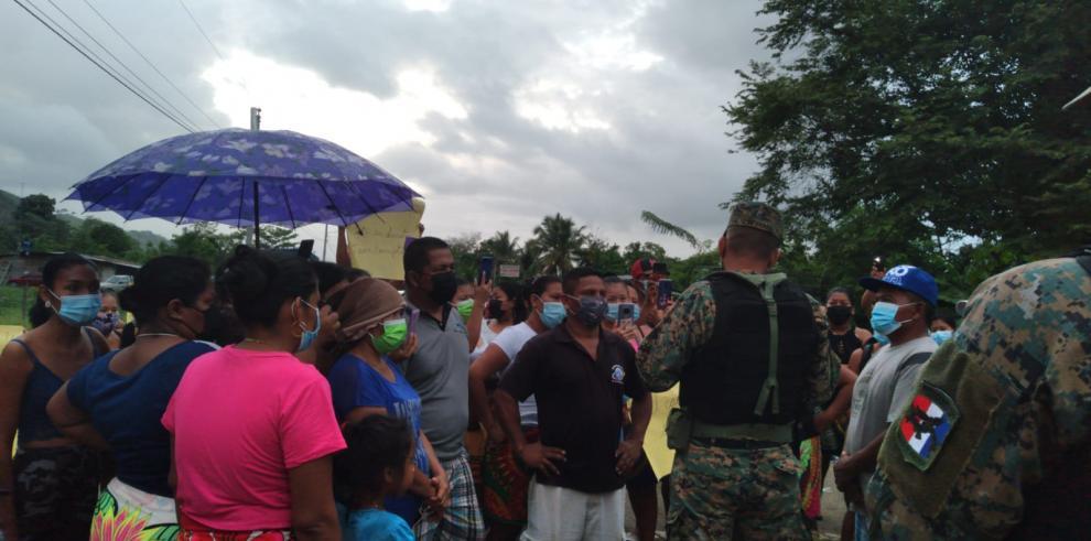 Protesta Alto Bayano