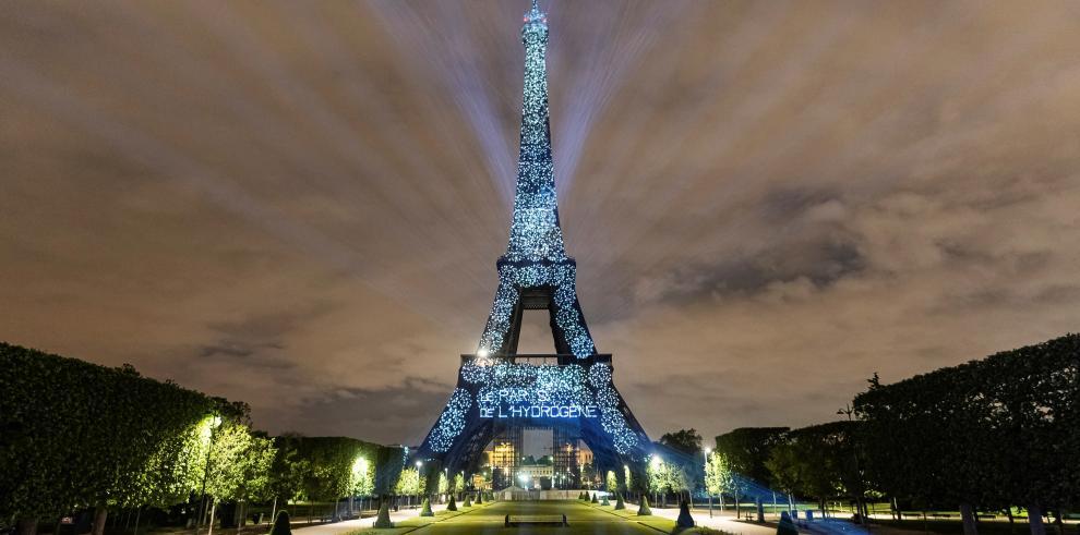La Torre Eiffel, uno de los monumentos más emblemáticos de París