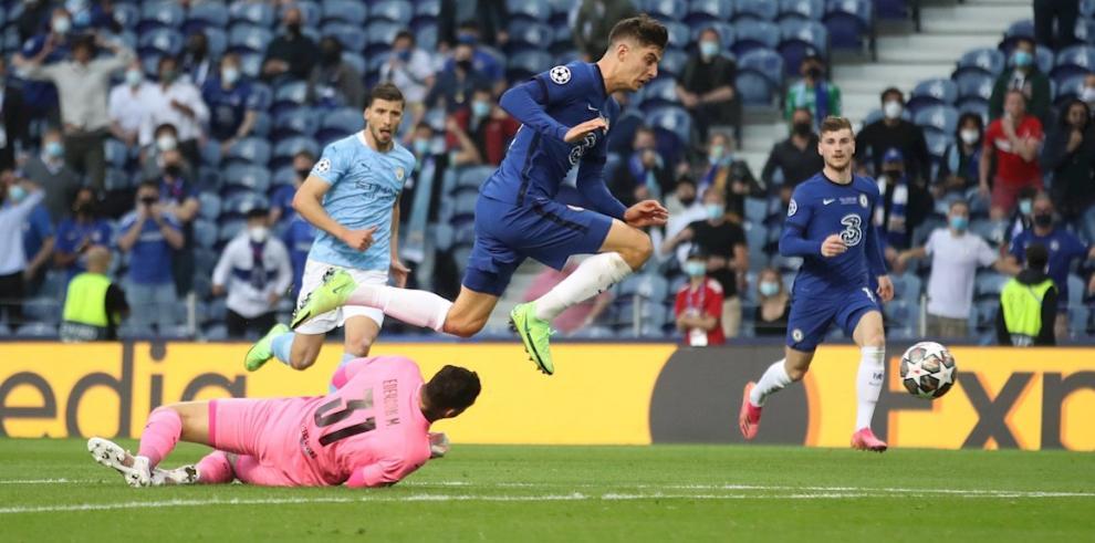 Havertz da al Chelsea su segunda Liga de Campeones