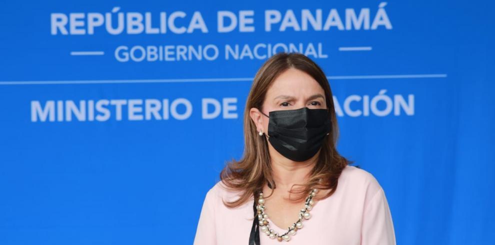 Maruja Gorday de Villalobos, titular del Meduca