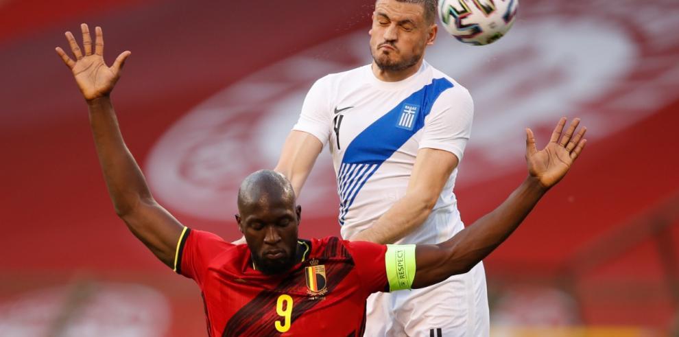 Amistoso entre Bélgica y Grecia