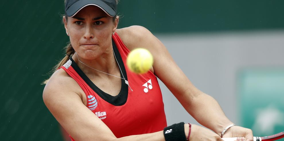 La tenista puertorriqueña Mónica Puig